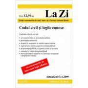 Codul civil si legile conexe (actualizat la 05. 11. 2009)