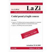 Codul penal si legile conexe (actualizat la 25. 10. 2009)