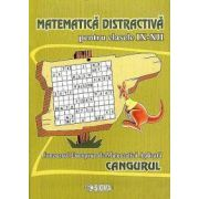 Matematica distractiva pentru clasele IX-XII. Concursul European de Matematica Aplicata Cangurul