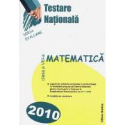 Matematica. Testare nationala 2010