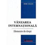 Vanzarea internationala. Elemente de drept