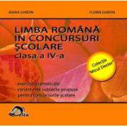 Limba Romana in concursuri scolare. Clasa a IV-a