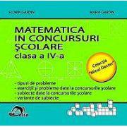 Matematica in concursuri scolare. Clasa a IV-a