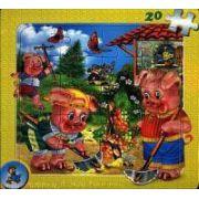 Puzzle - Cei trei purcelusi