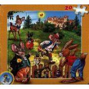 Puzzle - Fabule de La Fontaine