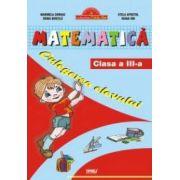 Matematica cls a III-a. Culegerea elevului