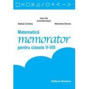 Memorator Matematica pentru clasele V-VIII