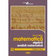 Algebra si analiza matematica. Clasa a XI-a. Anexa la manual