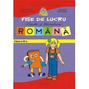 Fise lucru limba si literatura romana. Clasa a IV-a (Pitila)