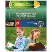 Exercitii practice de limba romana. Competenta si performanta in comunicare - clasa a V-a, semestrul 1