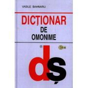 Dictionar de omonime (cartonat)