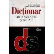 Dictionar ortografic scolar (cu elemente de punctuatie) (brosat)