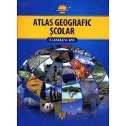 Atlas geografic scolar - clasele V-VIII