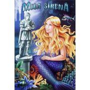Mica sirena - carte de colorat