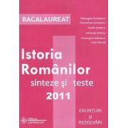 Bacalaureat: Istoria Românilor. Sinteze si teste 2011