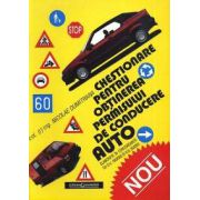 Chestionare pentru obţinerea permisului auto