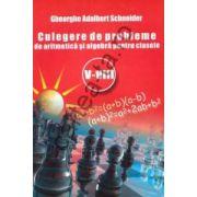 Culegere de probleme de aritmetică şi algebră pentru clasele V - VIII