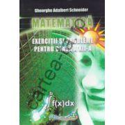 Matematica - Exercitii si probleme pentru clasa a XII-a