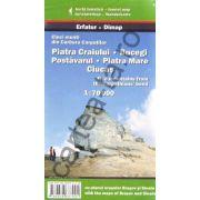 Cinci munti din Curbura Carpatilor ~ Piatra Craiului ~ Bucegi ~ Postăvarul ~ Piatra Mare ~ Ciucaş