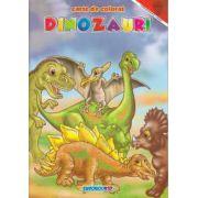 Dinozauri Carte de colorat