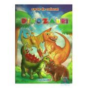 Dinozauri A5 ~ Carte de colorat ~
