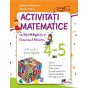 Activitati matematice cu Rita-Gargarita si Greierasul Albastru : Caiet pentru grupa mijlocie 4-5 ani