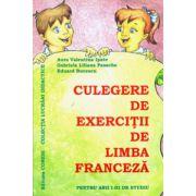 Culegere de exercitii de limba franceza pentru anii I-III de studiu