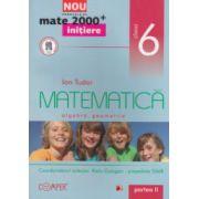 Matematica - initiere - algebra , geometrie : clasa a VI - a , partea a II - a