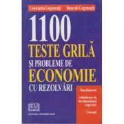 1100 Teste grila si probleme de economie cu rezolvari