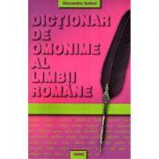Dictionar de omonime - Al. Andrei
