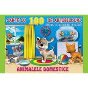 Animalele domestice. Carte cu 100 de abtibilduri