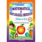 Matematica si explorarea mediului clasa a II-a, autor Artur Balauca