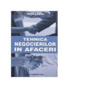 Tehnica negocierilor in afaceri - note de curs