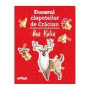 Seria Detectivii Aerieni #2. Dosarul clopoțeilor de Crăciun - Ana Rotea