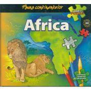Fauna continentelor - AFRICA - Carte PUZZLE