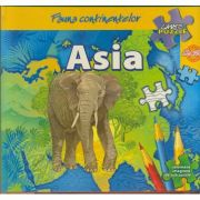 Fauna continentelor - ASIA - Carte PUZZLE