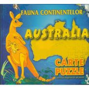 Fauna continentelor - AUSTRALIA - Carte PUZZLE