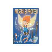 Meserii si Profesii carte de citit si colorat - Maria Popa, Adrian Barbu