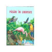 Pasari in libertate. Carte de citit si colorat - Mariana Popa
