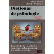 Dictionar de psihologie vol. VI litera D