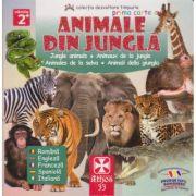 Prima carte cu animale din jungla - Athos