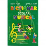 Dictionar scolar muzical - Simion Vaida