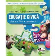 Educatie civica. Manual pentru clasa a IV-a. (Sem I + Sem II)