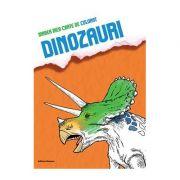 Marea mea carte de colorat Dinozauri