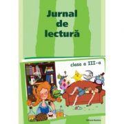 Jurnal de lectura. clasa a III-a