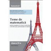 Teme de matematica. Clasa a VI-a (semestrul I) - Petrus Alexandrescu