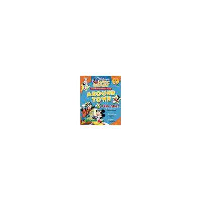Magic English - Around Town (carte+CD audio)