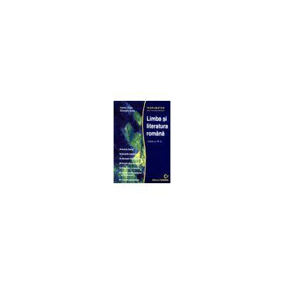 Indrumator pentru manualele alternative - Limba si literatura romana - Clasa a IX-a