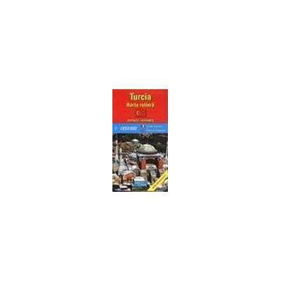 Turcia - harta rutiera