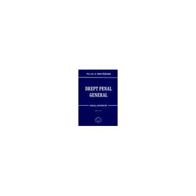 Drept penal general - Manual Universitar